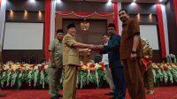 Gubernur Malut serahkan Nota Keuangan dan Ranperda APBD tahun 2020